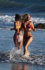 KINDLY MYERS, LIZZETH ACOSTA, KELLY COLLINS and JAERAH in Bikinis at 138 Water Photoshoot in Malibu 11/12/2017