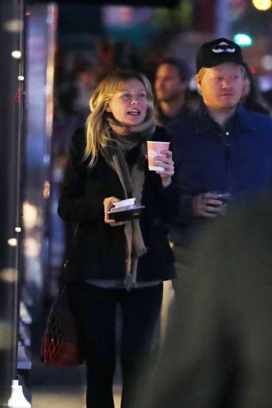 KIRSTEN DUNST and Jesse Plemons Night Out in New York 11/16/2017