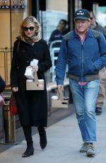 KIRSTEN DUNST and Jesse Plemons Out for Coffee in New York 11/17/2017