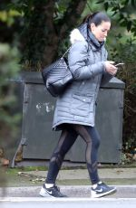 KIRSTY GALLACHER Doing Her Community Service in Berkshire 11/21/2017