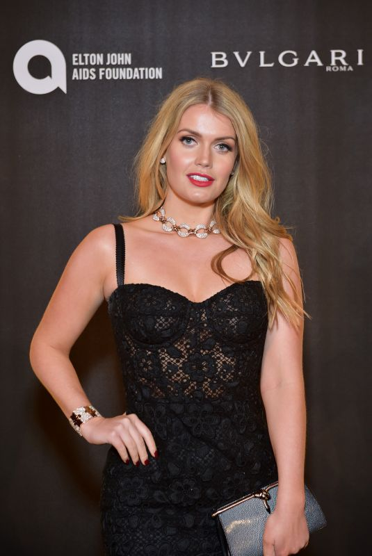 KITTY SPENCER at Club Love in Benefit of Elton John Aids Foundation in London 11/29/2017