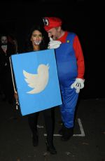 KONNIE HUQ at Jonathan Ross Halloween Party in London 10/31/2017