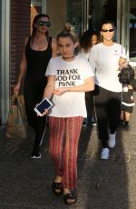 KOURTNEY KARDASHIAN and LARSA PIPPEN Goes for Painting Pottery at Color Me Mine in Los Angeles 11/24/2017