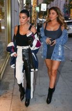 KOURTNEY KARDASHIAN and LARSA PIPPEN Out Shopping in Beverly Hills 11/27/2017