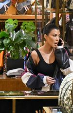 KOURTNEY KARDASHIAN Out Shopping in Beverly Hills 11/27/2017