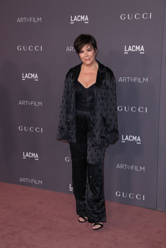 KRIS JENNER at 2017 LACMA Art + Film Gala in Los Angeles 11/04/2017