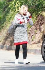 KRISTEN BELL Out and About in Los Feliz 11/01/2017