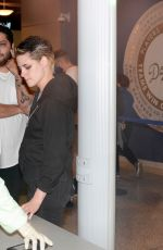 KRISTEN STEWART and EMILY ARMSTRONG Arrives at Dodgers Stadium in Los Angeles 10/31/2017