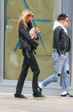 KRISTEN STEWART and STELLA MAXWELL Out and About in New York 11/13/2017