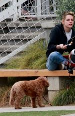 KRISTEN STEWART and Tamra Natisin at a Dog Park in Los Feliz 11/03/2017