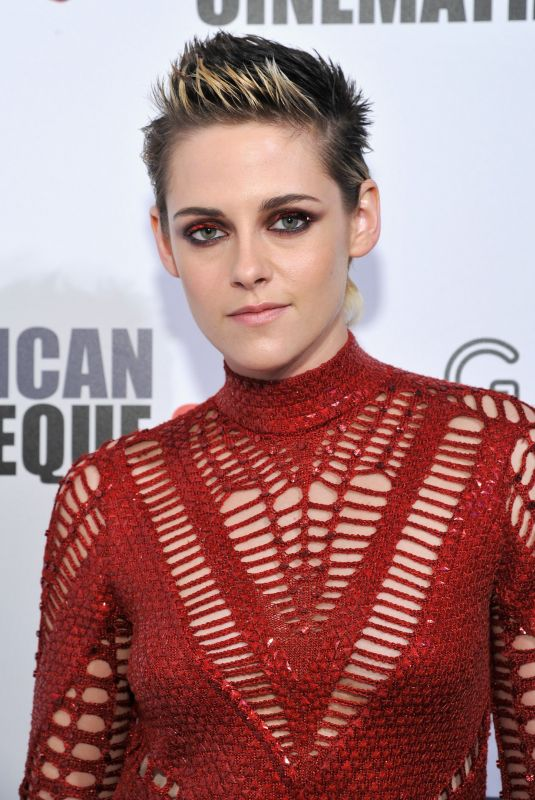 KRISTEN STEWART at American Cinematheque Awards Gala Honoring Amy Adams in Beverly Hills 11/10/2017