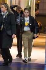 KRISTEN STEWART at JFK Airport in New York 11/15/2017