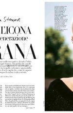 KRISTEN STEWART for Grazia Magazine, Italy November 2017