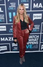 KRISTIN CHENOWETH and IRELAND BALDWIN at Watch What Happens Live in New York 11/06/2017