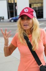KRISTIN CHENOWETH Out Shopping in Beverly Hills 11/27/2017