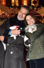 KRISTIN DAVIS and LEONA LEWIS at Gut Aiderbichl Christmas Market Opening in Henndorf am Wallersee 11/14/2017