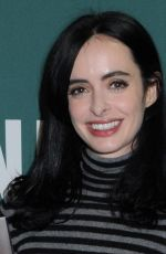 KRYSTEN RITTER at Her New Book Bonfire Fan Event at Barnes & Noble Booksellers Union Square in New York 11/08/2017