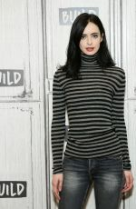 KRYSTER RITTER at AOL Build in New York 11/08/2017