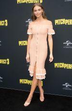 KSENIJA LUKICH at Pitch Perfect 3 Premiere in Sydney 11/29/2017