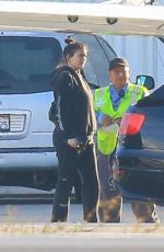 KYLIE JENNER etting on a private jet in los angeles - november 5, 2017 | picture pub