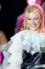 Kylie Minogue Performs At Covent Garden Christmas Lights Turn On In