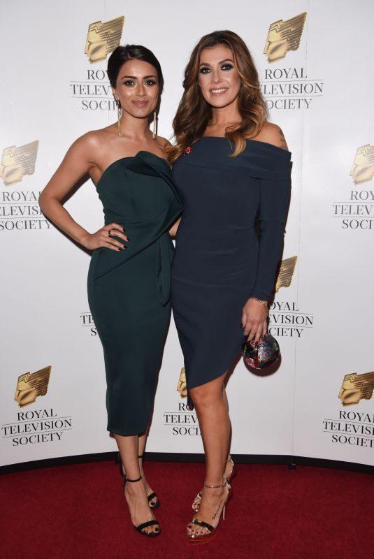 KYM MARSH and BHAVNA LIMBACHIA at Royal Television Society Awards in Manchester 11/11/2017