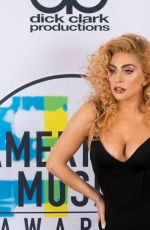 LADY GAGA at American Music Awards 2017 at Microsoft Theater in Los Angeles 11/19/2017