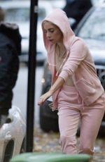 LADY GAGA Out and About in Montreal 11/05/2017