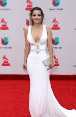 LADY JANNY at Latin Grammy Awards 2017 in Las Vegas 11/16/2017