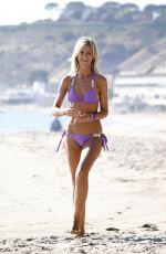 LADY VICTORIA HERVEY in Bikini at a Beach in Malibu 11/25/2017