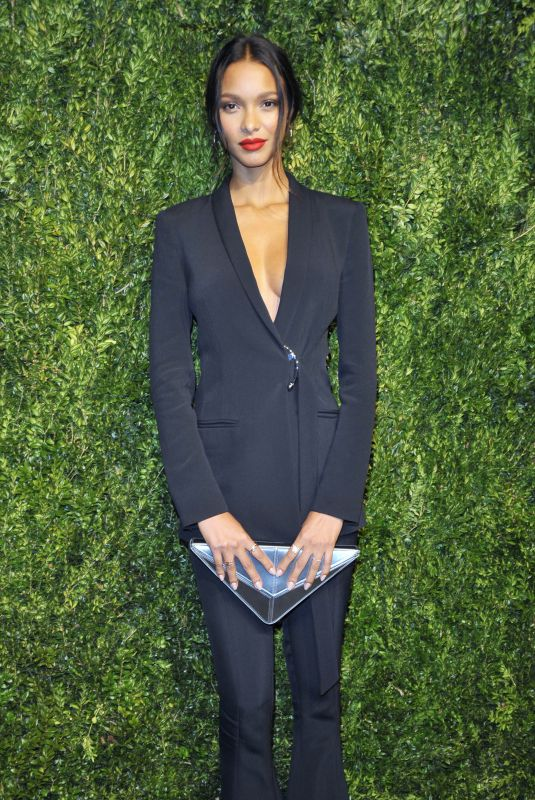 LAIS RIBEIRO at 14th Annual Cfda/Vogue Fashion Fund Awards in New York 11/06/2017