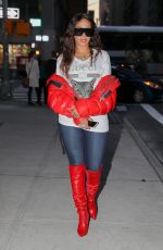 LALA ANTHONY Night Out in New York 11/21/2017