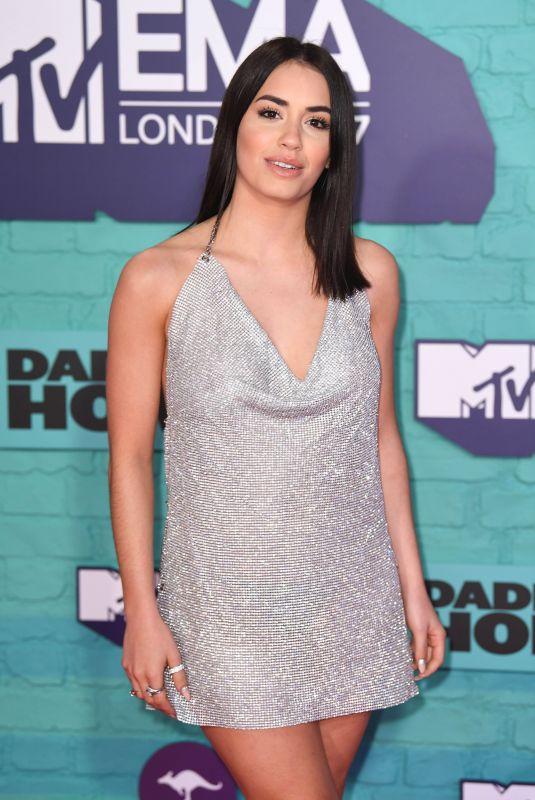 LALI ESPOSITO at 2017 MTV Europe Music Awards in London 11/12/2017