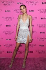 LAMEKA FOX at 2017 Victoria's Secret Fashion Show Viewing Party in New York 11/28/2017