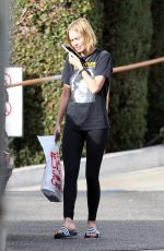 LARA BINGLE Out and About in Los Angeles 11/15/2017