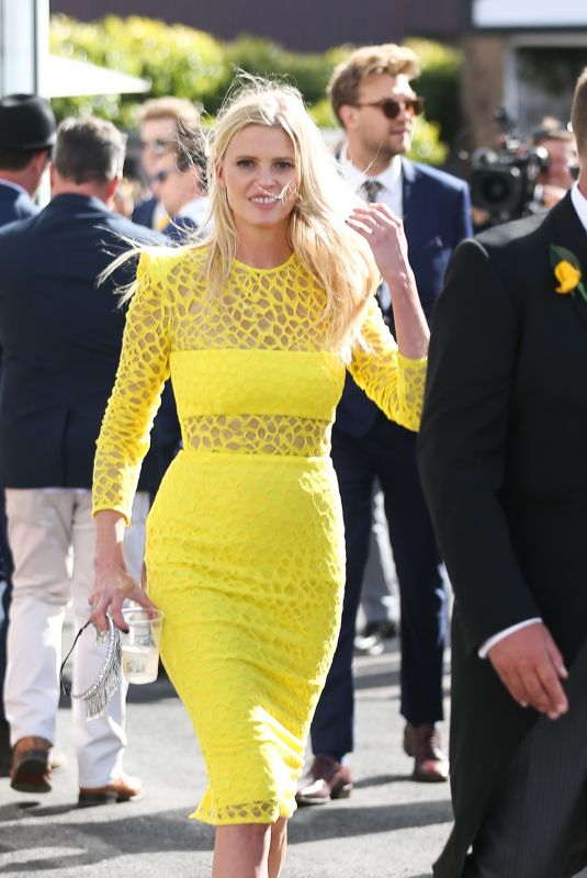 LARA STONE at Melbourne Cup 11/07/2017