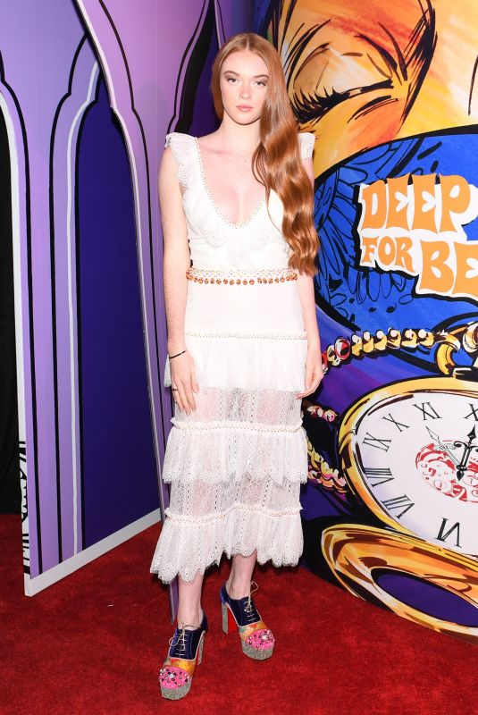 LARSEN THOMPSON at Just One Eye Presents Christian Louboutin x Sabyasachi Capsule Collection in Los Angeles 11/16/2017