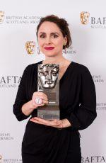 LAURA FRASER at British Academy Scotland Awards in Glasgow 11/05/2017