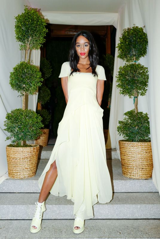 LAURA HARRIER at 14th Annual Cfda/Vogue Fashion Fund Awards in New York 11/06/2017