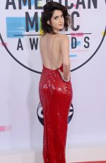 LAURA MARANO at American Music Awards 2017 at Microsoft Theater in Los Angeles 11/19/2017