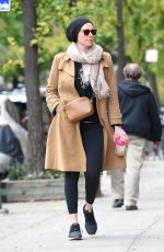 LAURA PREPON Out and About in New York 11/08/2017