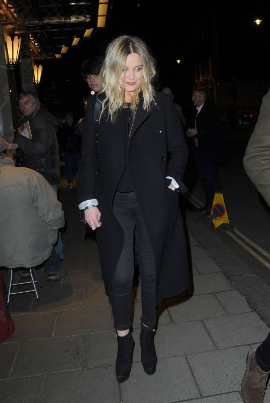 LAURA WHITMORE at MTV EMA After Party in London 11/12/2017