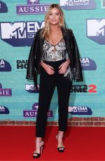 LAURA WHITMORE at MTV EMA's 2017 Build Up in London 11/11/2017