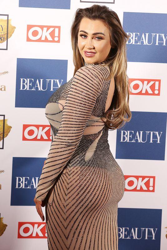 LAUREN GOODGER at OK! Magazine Beauty Awards in London 11/28/2017