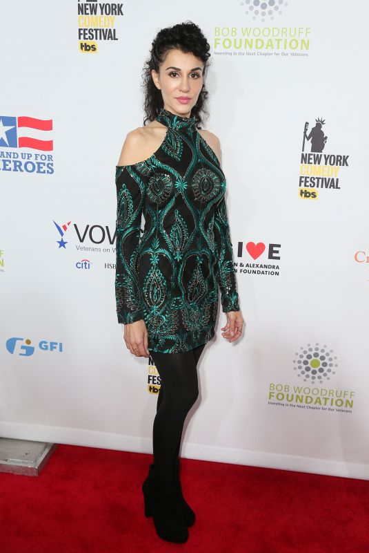 LAYLA ALIZADA at 11th Annual Stand Up for Heroes in New York 11/07/2017