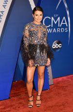 LEA MICHELE at 51st Annual CMA Awards in Nashville 11/08/2017
