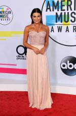 LEA MICHELE at American Music Awards 2017 at Microsoft Theater in Los Angeles 11/19/2017