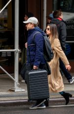 LEA MICHELE Leaves Her Hotel in New York 11/22/2017