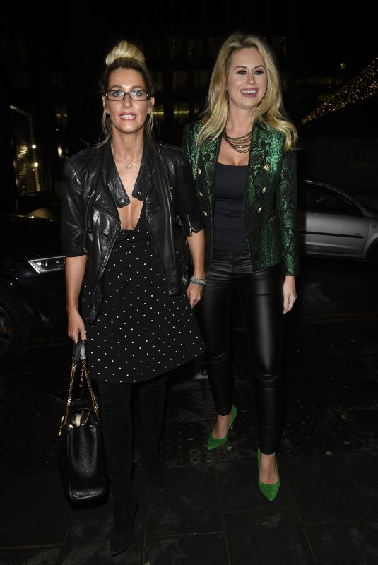 LEANNE BROWN and ESTER DEE at MTV v Skinny Dip Launch Party in London 11/20/2017