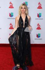LELE PONS at Latin Grammy Awards 2017 in Las Vegas 11/16/2017